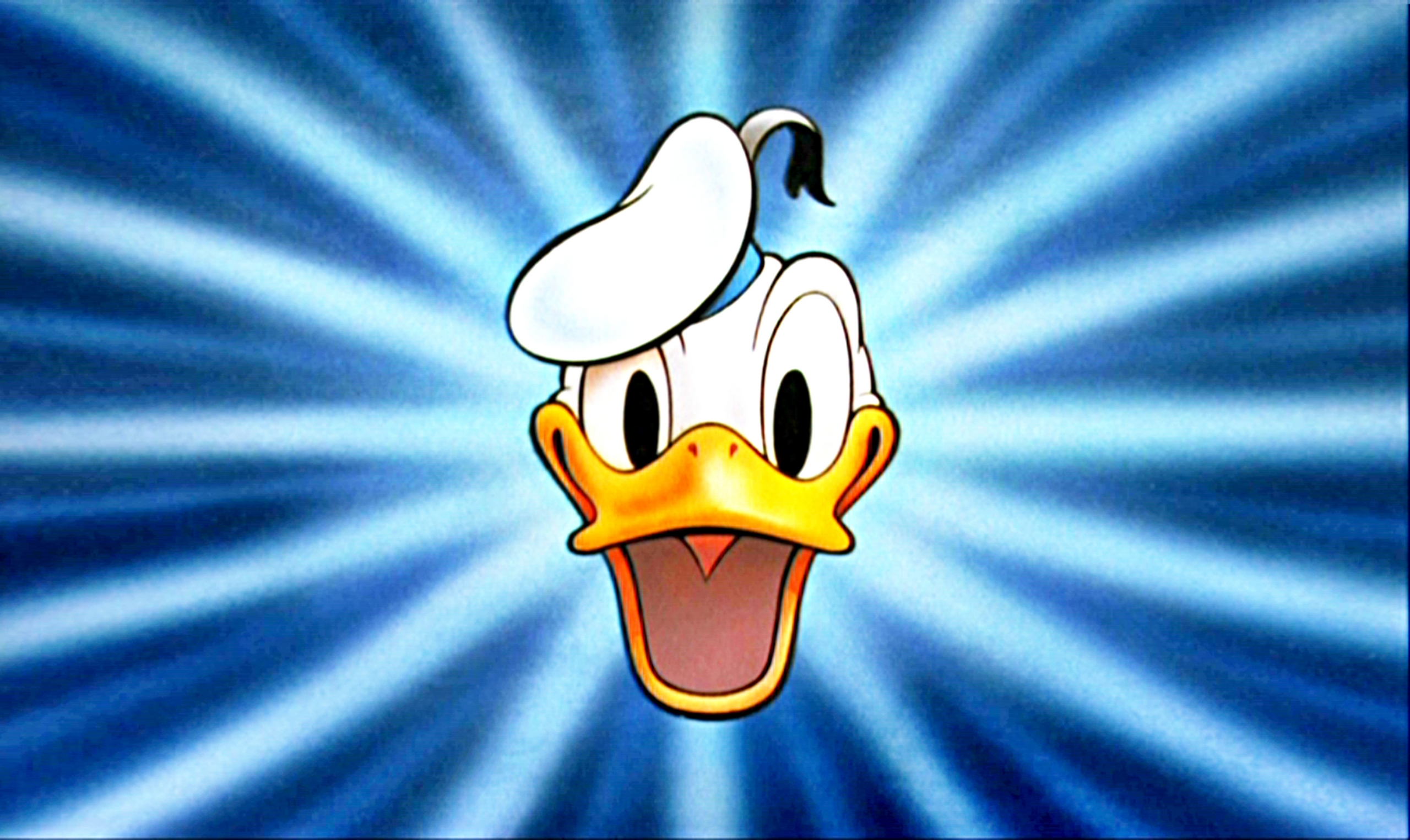 donald duck Donald duck might be quick-tempered when things don't go his way, but he has a heart of gold and is very devoted to his friends.