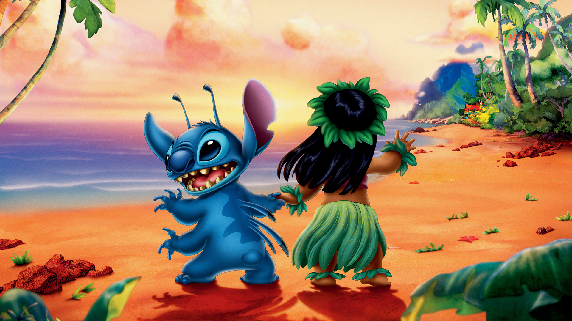 It is a picture of Rare Lilo & Stitch Images