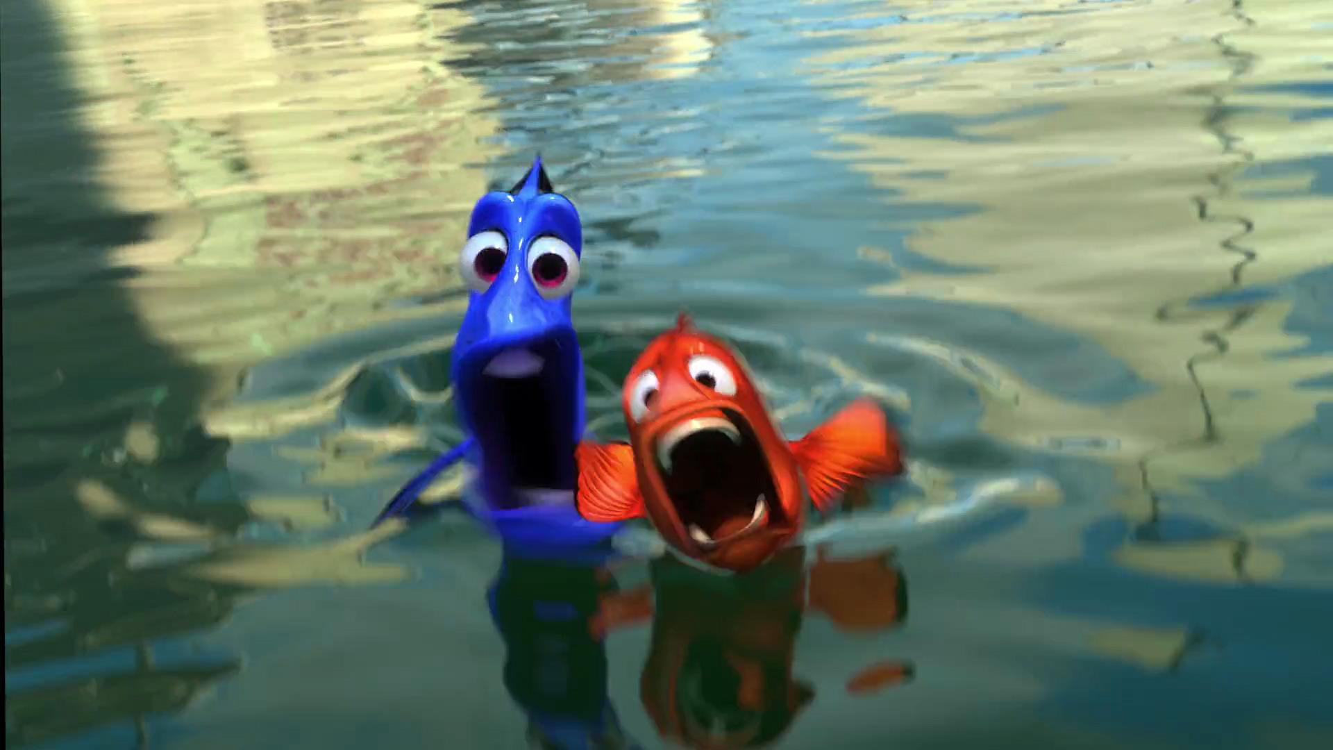 Finding Nemo on Finding Nemo